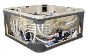 Impianto di Filtrazione vasca spa