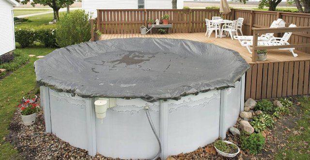 chiusura invernale delle piscine fuori terra con copertura