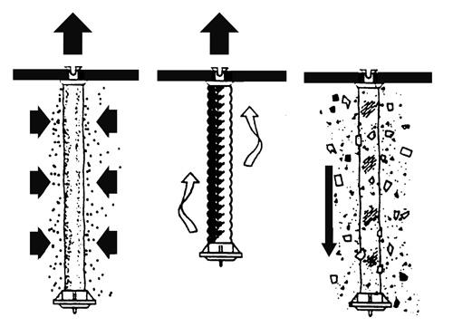 Pulire filtri a polvere di diatomea