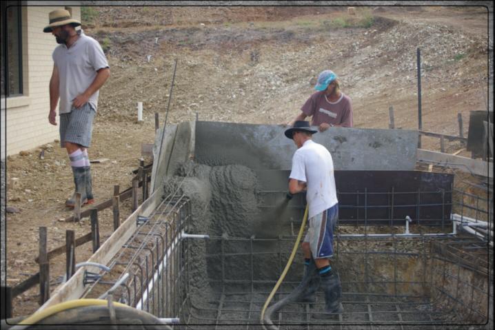 Consigli sulla costruzione di piscine in cemento armato - Costruzione piscina in cemento armato ...