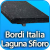 Bordi per piscina a sfioro LAGUNA made in Italy