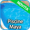 Piscine interrate MAYA con scala interna