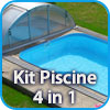 Piscine in polipropilene monoblocco