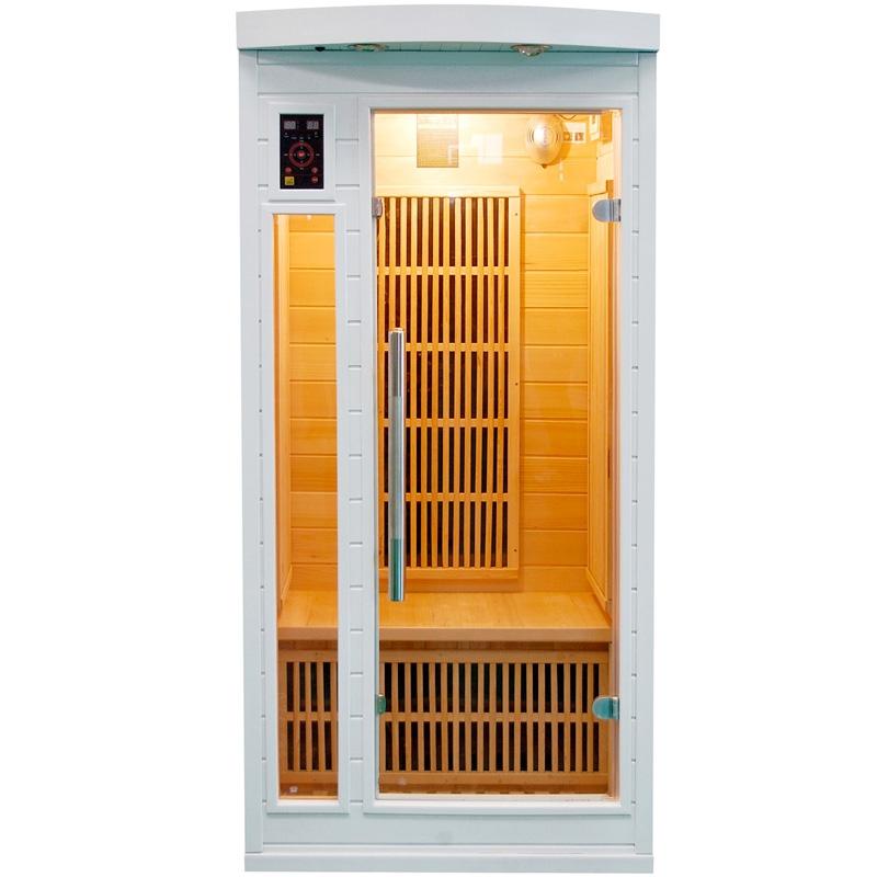 Sauna a raggi infrarossi SNOW 1 posto  BSVillage.com