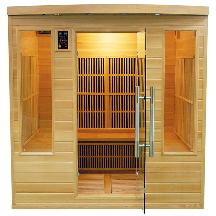 Sauna a raggi infrarossi Daphne Club 4 - 5 posti  BSVillage.com