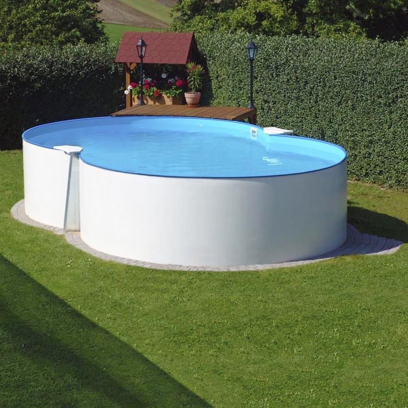 Piscina fuori terra a otto isabella 625 l 6 25 x 3 60 h - Quanto costa costruire una piscina ...