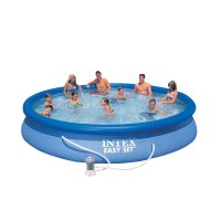 Piscina Fuori Terra INTEX EASY SET Ø 4,57 x h.0,91 m
