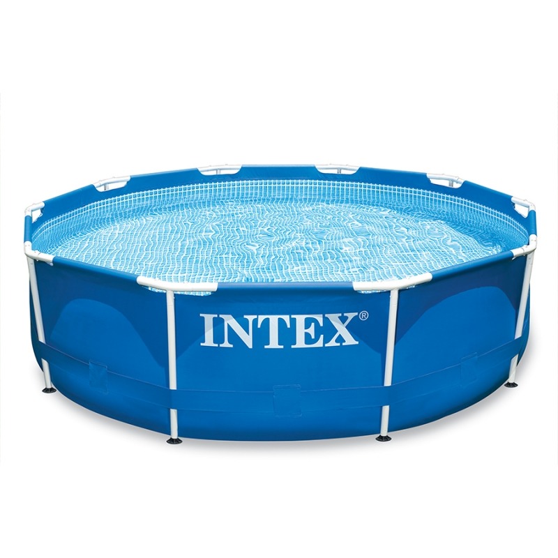 Piscine Fuori Terra Intex.Piscina Intex Metal Frame Fuori Terra O 3 05 X H 0 76 M Bsvillage Com