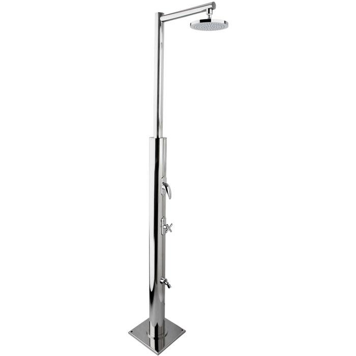 Docce per esterni tecno cube m la nuova doccia per - Piatto doccia per esterno ...