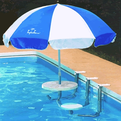 Salotto Piscina POOL BAR con Ombrellone