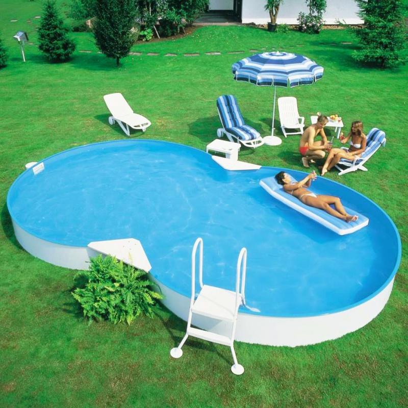 Piscina fuori terra a otto isabella 920 9 20 x 6 00 h 1 for Piscina 50 m