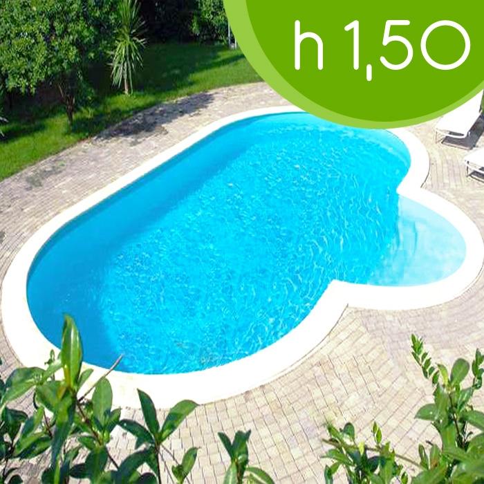Piscina interrata olympia 1000 10 00 x 4 16 h 1 50 m for Piscina 50 m