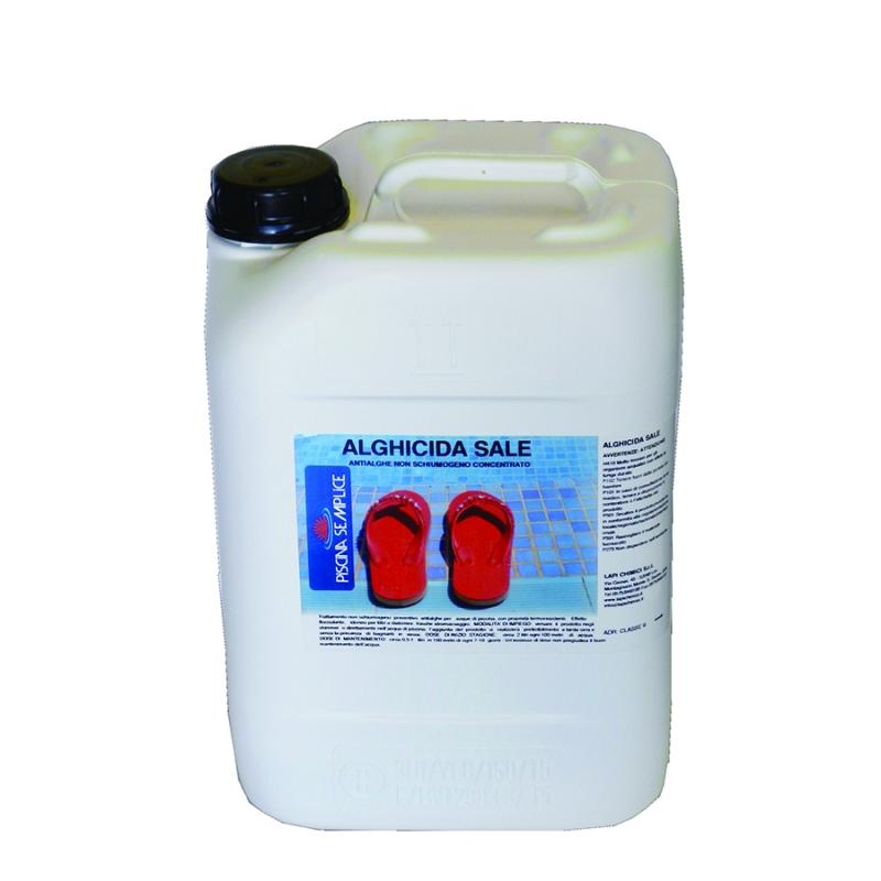 Antialghe piscina alghicida sale concentrato non schiumogeno - Trattamento antialghe piscina ...