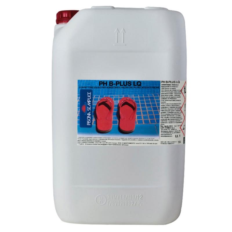 Ph plus correttore basico per acqua piscina for Bajar ph piscina