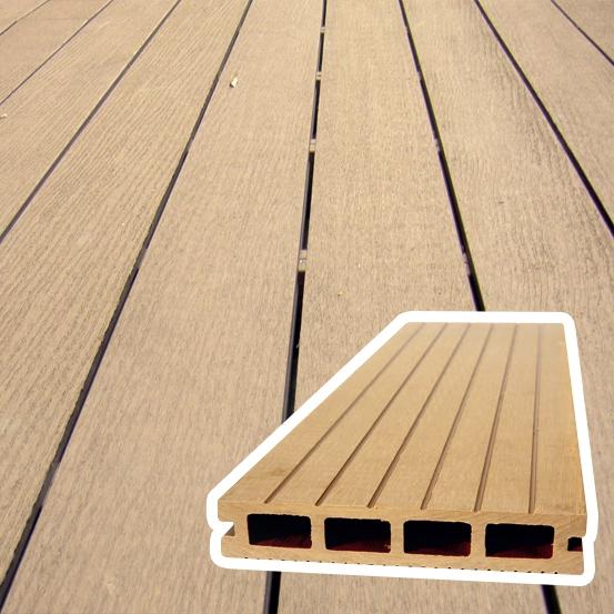 Listello Decking WPC legno Composito per Pavimentazione esterna - al mq  BSVillage.com