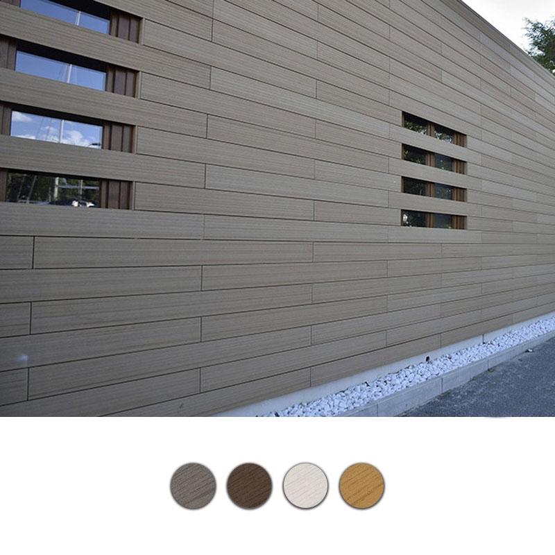 Listello per rivestimenti esterni in wpc legno composito - Legno composito per esterni ...