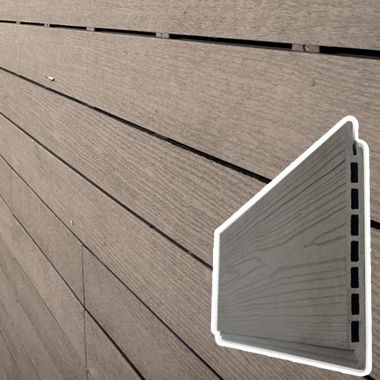Listello Decking WPC legno Composito per Rivestimenti esterni - al mq  BSVillage.com