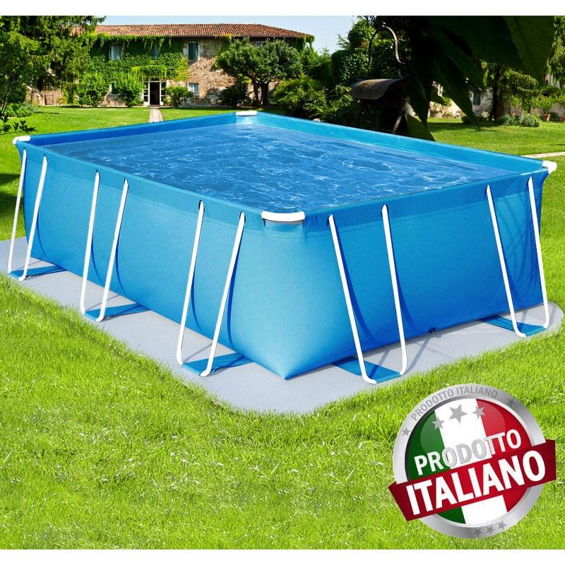 Piscina Fuori Terra Como Rettangolare Italiana 280x480 H