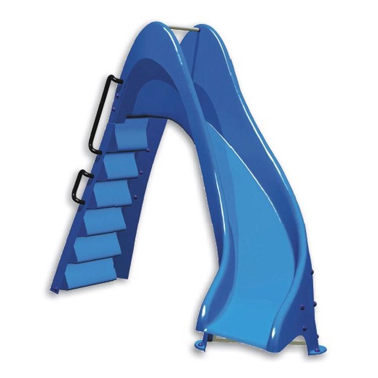 Scivolo per piscina blu curva a destra o sinistra h1 50 for Prodotti per piscina prezzi