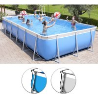 Piscina fuori terra Technypools CALIFORNIA TOP 800 - 8,22x4,36 h.1,47m