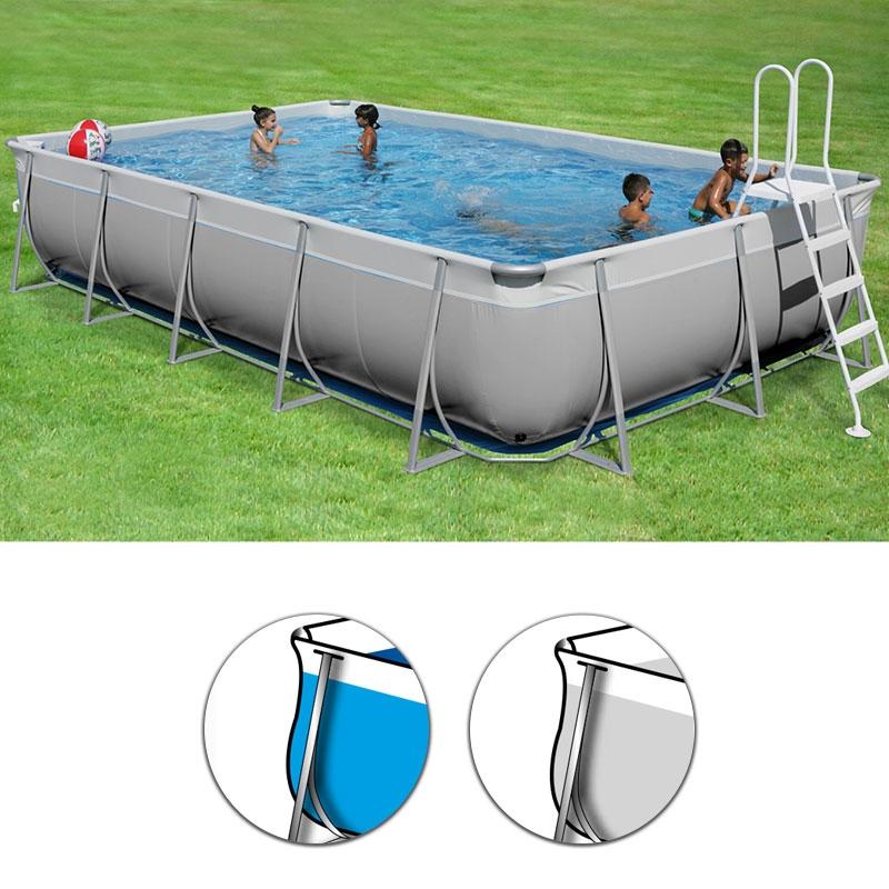 Piscina fuori terra rettangolare futura 900 top 780 x - Occasioni piscine fuori terra ...