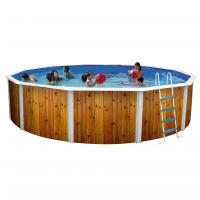 Piscina fuori terra rotonda FANTASY Plus 460 decoro ARROW - Ø 4,60 h.1,20 m