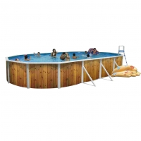 Piscina fuori terra FANTASY Plus 640 decoro ARROW - 6,40 x 3,66 h.1,20 m