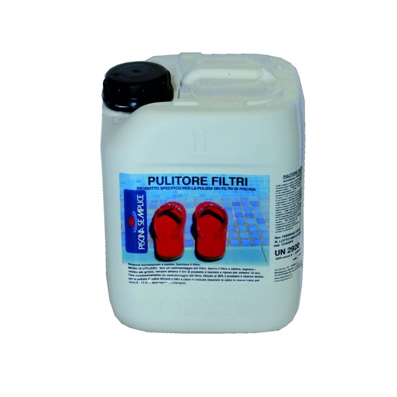Detergente pulitore filtri a sabbia per piscina - Pulitore per piscina ...