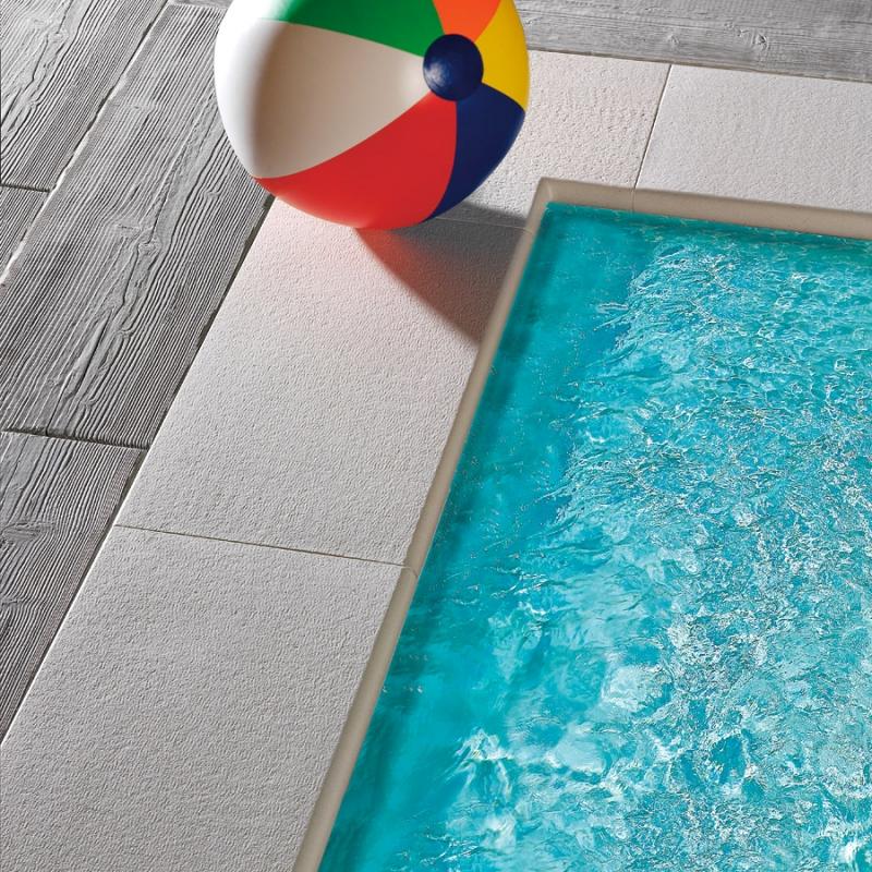 Bordo piatto capri autentika bianco per piscina - Bordo piscina prezzi ...