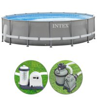 Piscina Intex ULTRA FRAME Ø 4,88 x h.1,22 m