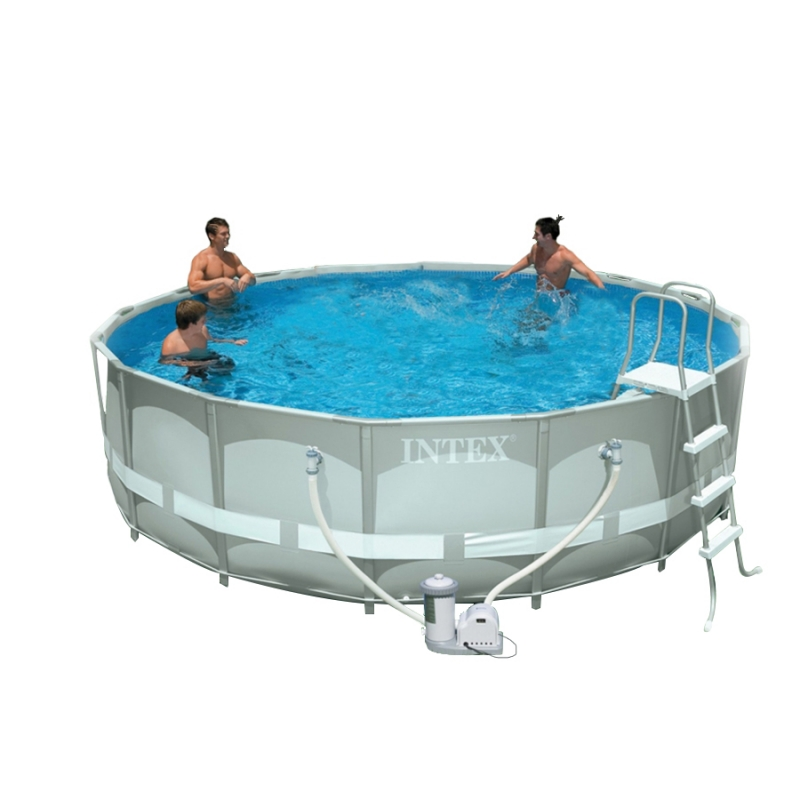 Piscina intex ultra frame 4 88 x h 1 22 m for Piscine intex ultra frame 4 88x1 22