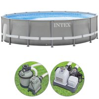 Piscina Intex ULTRA FRAME Ø 5,49 h 1,32 m