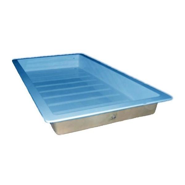 Vaschetta lava piedi per piscina 200 x 100 cm for Vasche in plastica per giardino