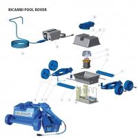 Pompa motore A6016 Jet Pod Brush / Pool Rover