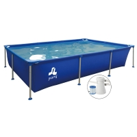 Piscina fuori terra PASSAAT Blue Jilong 258 x 179 h66 cm