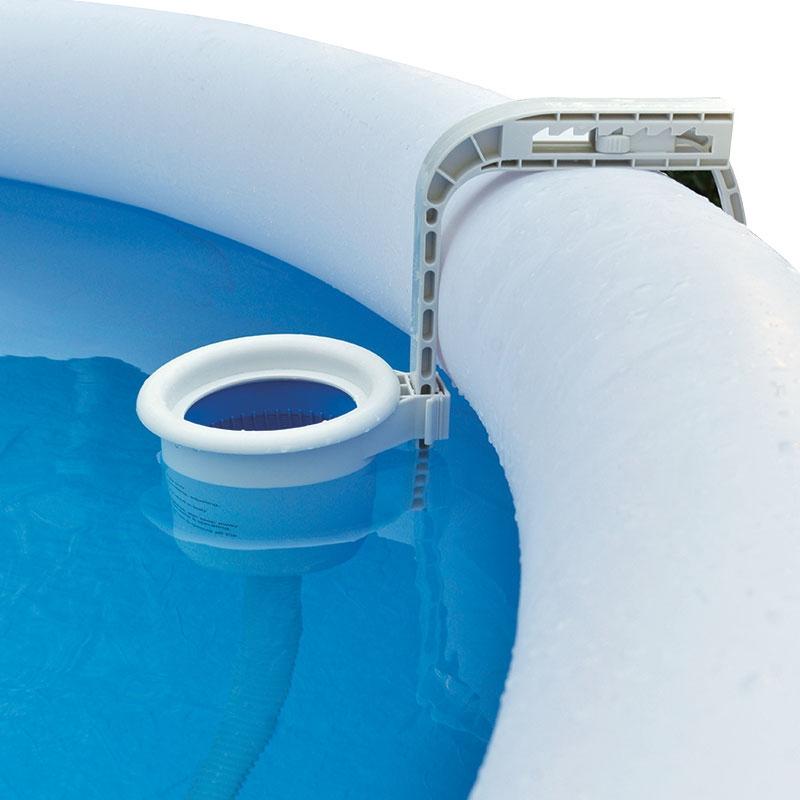 Skimmer jilong per piscina fuori terra autoportante con anello superiore gonfiabile - Piscina skimmer ...