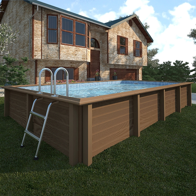 Piscine in legno fuori terra edenpark firenze piscine for Piscina fuori terra con soppalco