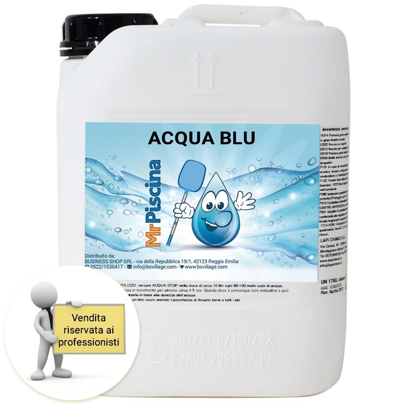 Ossigeno attivo liquido acqua blu sanificante e - Ossigeno attivo per piscine ...