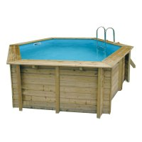 Piscina in legno NorthWood 410 - Ø 4,10 h1,20 m