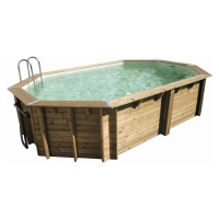 Piscina in legno NorthWood 610 - 6,10 x 4,00 h.1,30 m
