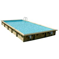 Piscina in legno NorthWood 800 - 8,00 x 5,00 h.1,40 m