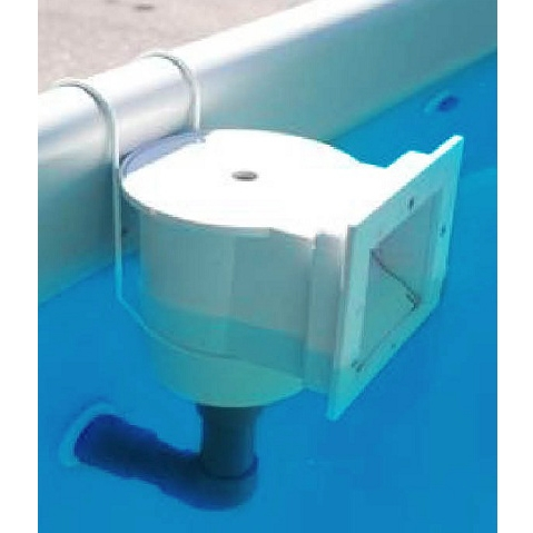 Kit skimmer con gancio metallico per piscina fuori terra - Piscina skimmer ...