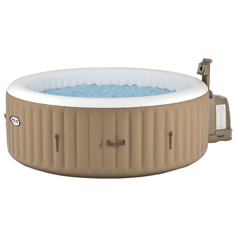 Piscina spa idromassaggio gonfiabile bubble terapy 4 for Vasche per pesci esterne