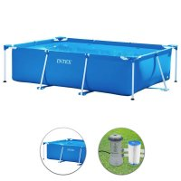 Piscina Intex metal Frame 3,00 x 2,00 h.0,75 m