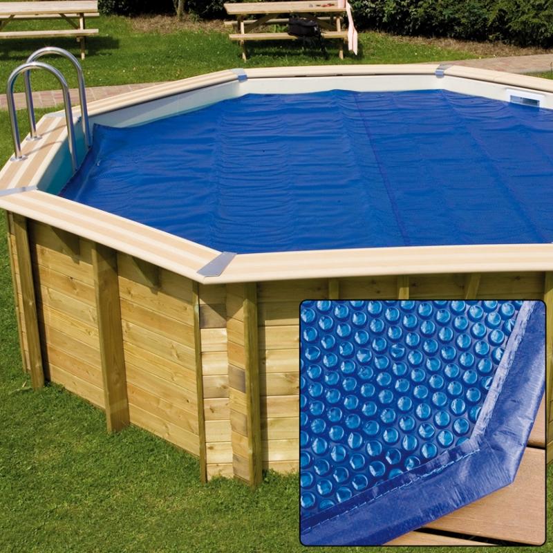Copertura isotermica a bolle per piscina in legno esagonale ottagonale northwood - Piscine da esterno in legno ...