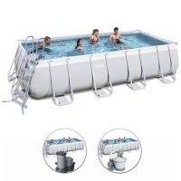 Piscina fuori terra Bestway POWER STEEL FRAME 7,32 x 3,66 x h.1,32 m