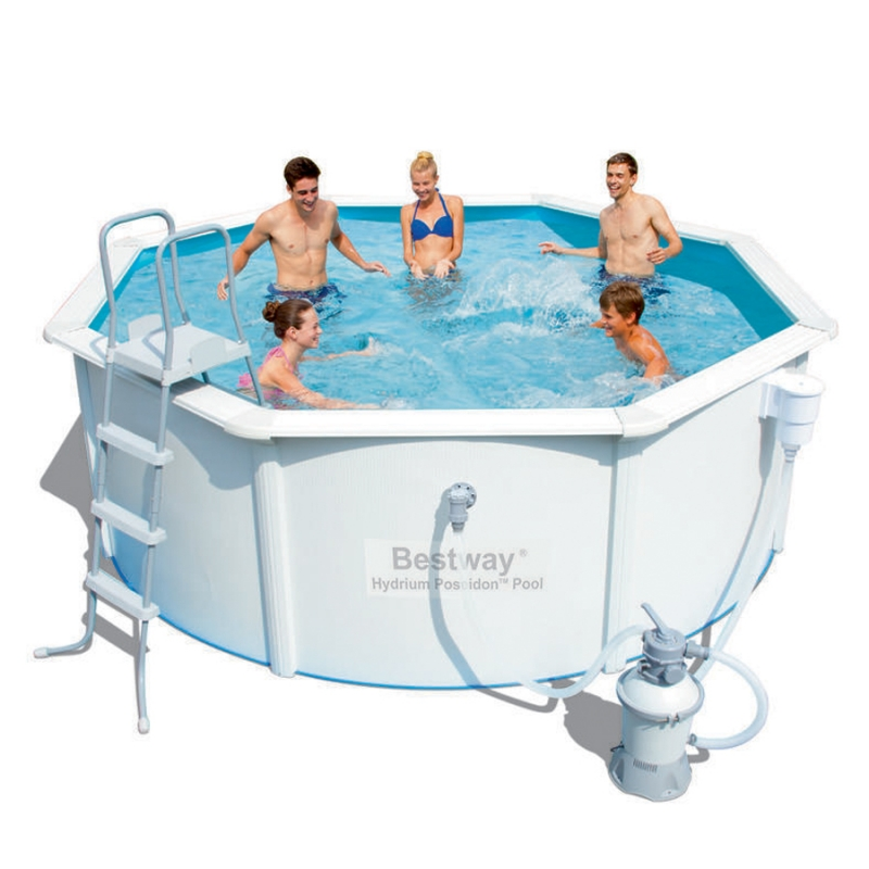 Piscina fuori terra bestway hydrium 3 60 x h 1 20 m for Piscine fuori terra best way