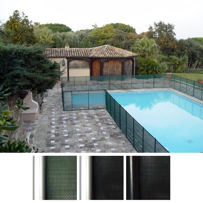 Recinzione di sicurezza in piscina beethoven rigida - Recinzione piscina legno ...
