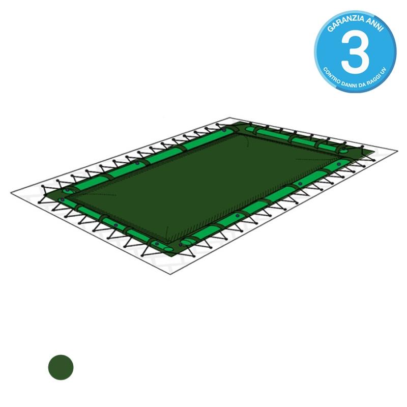 Copertura invernale per piscina polartex light 300 pvc combinata - Salsicciotti per piscina ...