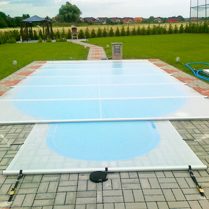 Copertura Isotermica di Sicurezza a barre POOLGARD SAFETY per piscina